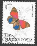 Stamps : Europe : Hungary :  2852 - Mariposa