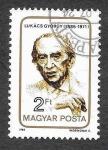 Stamps : Europe : Hungary :  2915 - Gyorgy Lukacs