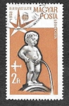 Stamps : Europe : Hungary :  C181 - Manneken Pis