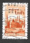 Stamps Hungary -  C266 - Avión sobre El Cairo