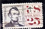 Stamps : America : United_States :  ABRAHAM LINCOLN