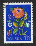 Stamps : Europe : Poland :  2152 - Socphilex IV, Exposición filatélica internacional, Bordado