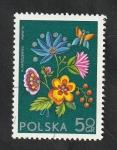 Stamps : Europe : Poland :  2151 - Socphilex IV, Exposición filatélica internacional, Bordado