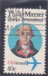 Stamps : America : United_States :  PHILIP MAZZEI