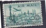 Stamps : America : United_States :  ESTATUA DE LA LIBERTAD -NEW YORK
