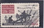 Stamps : America : United_States :  CENTENARIO BATALLA WILDERNESS