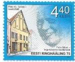 Sellos de Europa - Estonia -  Personaje