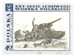 Sellos del Mundo : Europa : Polonia : Ejercito polaco