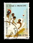 Sellos del Mundo : Africa : Santo_Tomé_y_Principe : ILUSTRACION