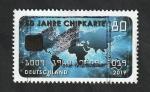 Stamps : Europe : Germany :  50 Anivº de la tarjeta inteligente