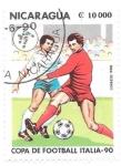 Stamps Nicaragua -  deportes