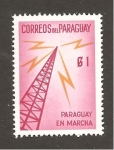 Stamps  -  -  PARAGUAY INTERCAMBIO