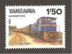 Stamps Tanzania -  INTERCAMBIO