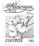 Sellos del Mundo : America : Nicaragua : orquídeas
