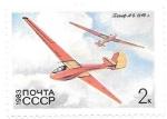 Sellos de Europa - Rusia -  planeadores
