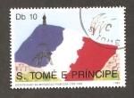 Sellos del Mundo : Africa : Santo_Tomé_y_Principe : INTERCAMBIO