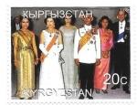 Sellos de Asia - Kirguistán -  visitas de estado