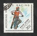 Stamps : Asia : Mongolia :  1099 - Motociclismo