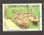 Sellos del Mundo : Africa : Santo_Tomé_y_Principe : RESERVADO DAVID MERINO