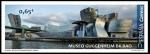 Sellos del Mundo : Europa : España : Museos, Guggenheim Museum, Bilbao