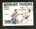 Sellos del Mundo : Africa : Togo : DEPORTES