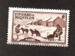 Stamps  -  -  SAN PIERRE & MIQUELON INTERCAMBIO