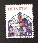 Stamps Switzerland -  INTERCAMBIO