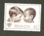 Sellos del Mundo : Africa : Rwanda : INTERCAMBIO