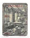 sello : America : Panamá : grabado