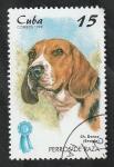 Stamps : America : Cuba :  3709 - Beagle, perro de raza