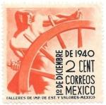 Sellos de America - México -  aniversarios