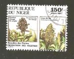 Sellos del Mundo : Africa : Níger : FLORA