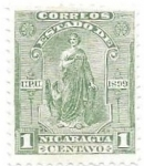 Sellos de America - Nicaragua -  Justicia