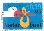 Stamps Netherlands -  aves