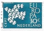 Sellos del Mundo : Europa : Holanda : aves