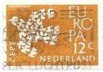 Sellos de Europa - Holanda -  aves