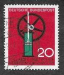 de Europa - Alemania -  894 - Centenario del Motor de Combustión Interna Alemán