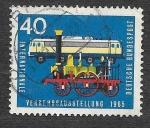 de Europa - Alemania -  923 - Exhibición Internacional de Transportes y Comunicaciones