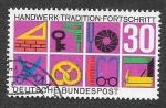 de Europa - Alemania -  981 - Tradiciones y Avances de la Artesanía