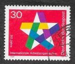 de Europa - Alemania -  995 - L Aniversario de la ILO