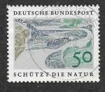 de Europa - Alemania -  1003 - Protección de la Naturaleza