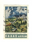 Stamps Greece -  PINTURA DE EL GRECO