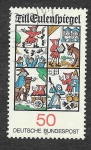 Sellos de Europa - Alemania -  1230 - Till Eulenspiegel