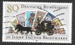 Sellos de Europa - Alemania -  1473 - L Aniversario del Día del Sello