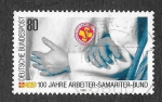Sellos del Mundo : Europa : Alemania : 1567 - Centenario del Servicio de Rescate