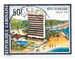 Sellos del Mundo : Africa : Gabón :  hotel