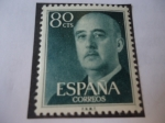 Stamps : Europe : Spain :  Ed:1152 - Franco, General - Serie:General Franco (V) 1955-1975