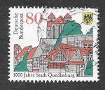 Sellos del Mundo : Europa : Alemania : 1873 - 1000 Aniversario de la Ciudad de Quedlinburg