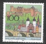 Sellos del Mundo : Europa : Alemania : 1934 - 800 Aniversario de la Ciudad de Heidelberg