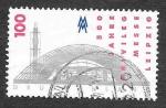 Stamps Germany -  1958 - 500 Aniversario de la Feria de Leipzig
